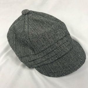 Nordstrom Light Gray Private Railroad Hat Tweed